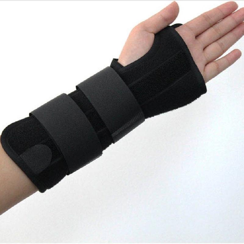 Protective 1 Pc Carpal Tunnel 2 Wrist Brace Support Sprain Forearm Splint Band Stra #49951(China (Mainland))