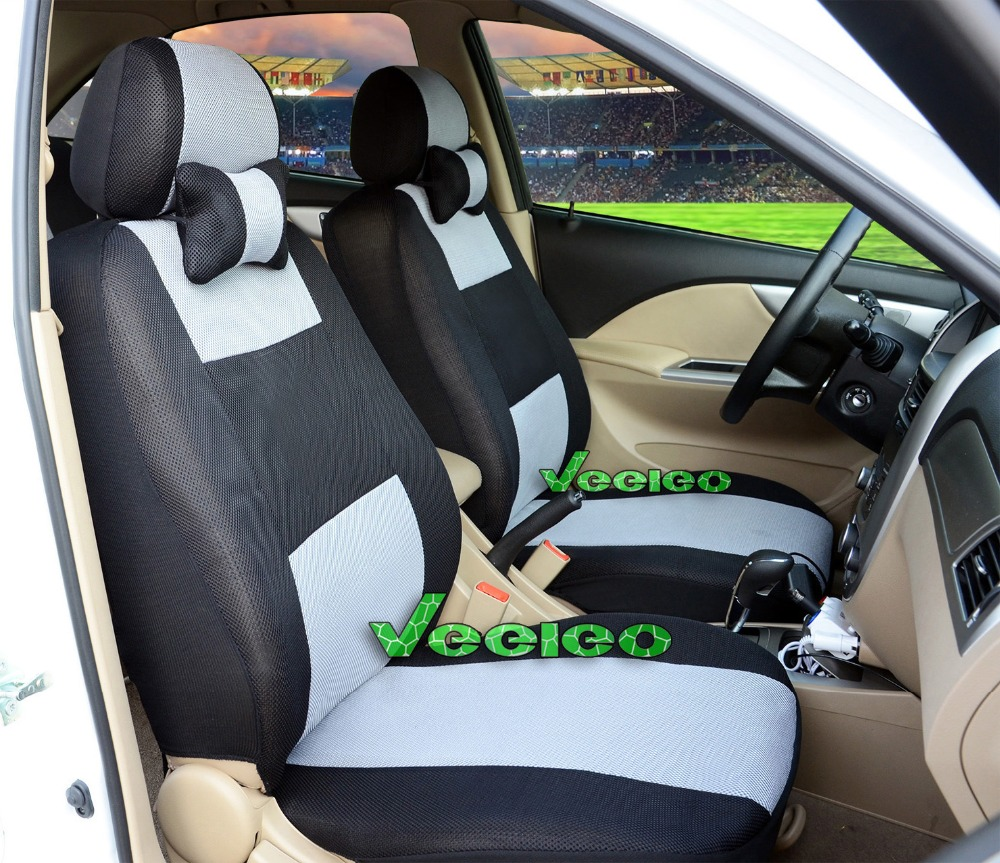 """Гаджет  Free Shipping+""""Generic car version"""" Seat Cover For TOYOTA Corolla Camry Rav4 Seat Cover With Thickening Sandwich Meterial+Logo None Автомобили и Мотоциклы"""