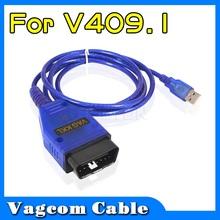 Brand New Useful Vag Com VAG409.1 KKL USB Diagnostic Cable VAG-COM OBD2 Scan Tool Vagcom Vag 409.1 For Audi  VW SEAT SKODA(China (Mainland))