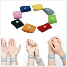 Anti Nausea Wristbands Car Anti Nausea Sickness Reusable Motion Sea Sick Travel Wrist Bands Arm Warmers 100pcs/lot(China (Mainland))