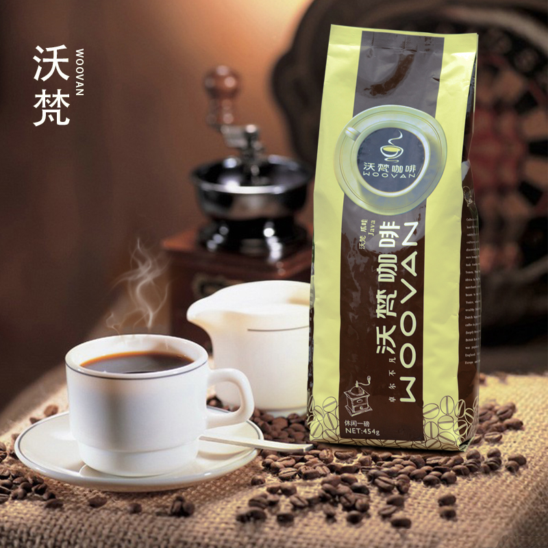 Free Shipping 454g Italy Coffee Beans High Quality Green Coffee Beans Baking Charcoal Roasted Fresh Black