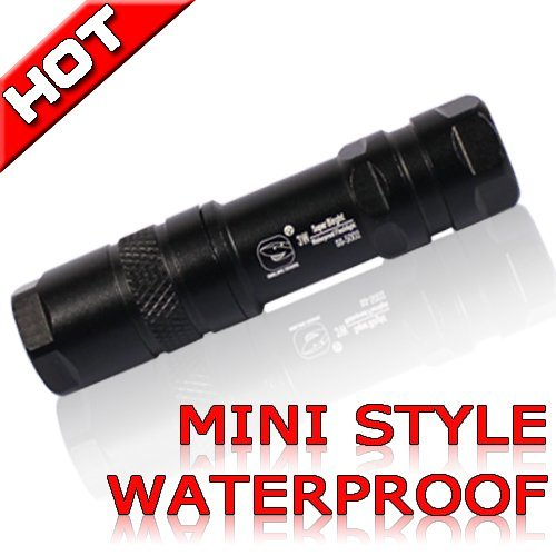 Hot! 3W LED  mini style super bright outdoor Torch Handy Flashlight Waterproof For Sporting camping outdoor 5002