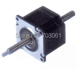 57mm dual shaft cnc linear stepper for Double shaft stepper motor