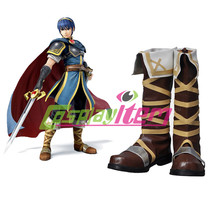 Free shipping customized Fire Emblem cosplay Marth Cosplay Boots shoes Version 01 cosplay costume