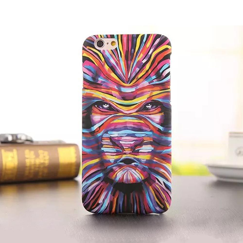 Newest Fashion Luminous king of forest Masked Singer hard plastic back cover case shell for Apple iPhone 5 5s SE for students(China (Mainland))