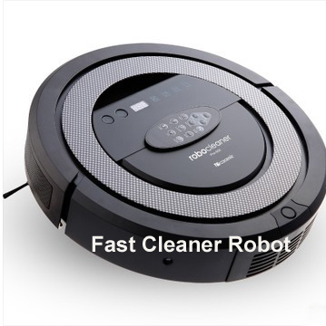 (Free to Russia) 2015 Newest And Best  Robot Vacuum Cleaner QQ5, Two Side Brushes,with Tone,Schedule,Virtual Wall,Self Charge<br><br>Aliexpress