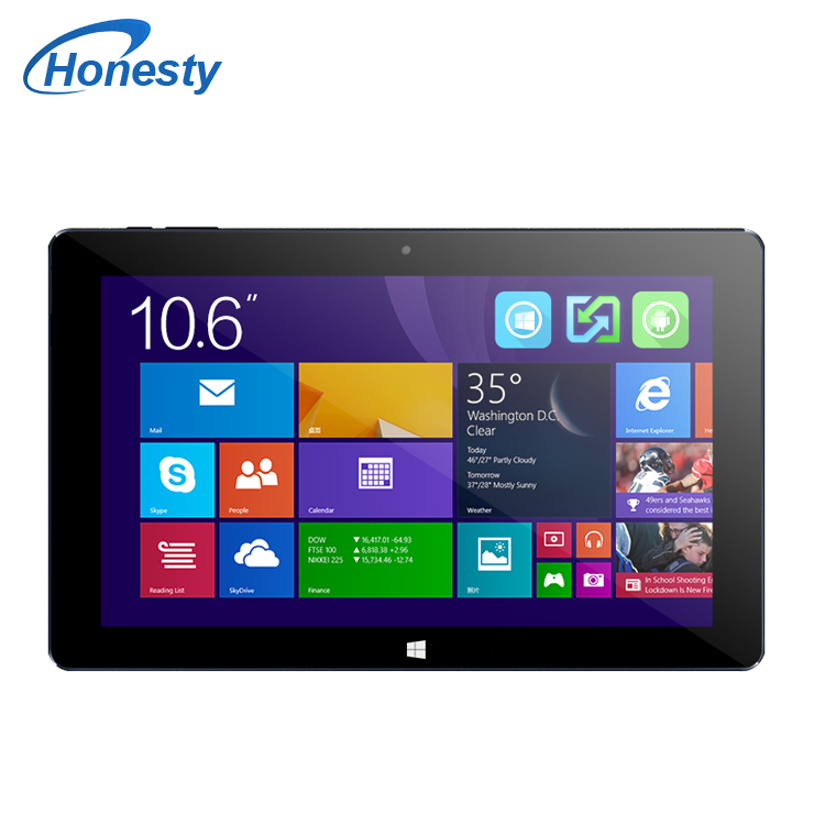 "New Arrival 10.6"" HD Cube I10 Dual Boot Tablet PC Windows 8.1+Android 4.4 Intel Z3735F Quad Core 2GB RAM 32GB ROM Mini HDMI OTG(China (Mainland))"