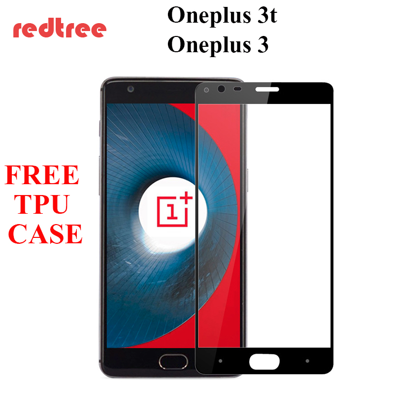 OnePlus 3t Tempered Glass One Plus Screen Protector film 3 H+PRO H Anti-Explosion premium version  -  BeeBeeBee Store store