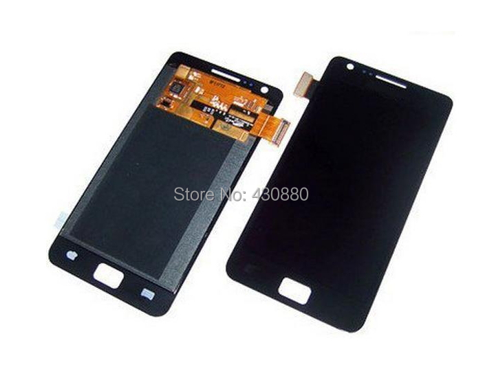 5pcs/lot For Samsung i9100 Galaxy S2 LCD with Touch Screen Replacement Assembly New Original Brand black white cheap dhl ems(China (Mainland))