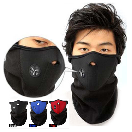 2015 Thermal Neck warmers Fleece Balaclavas CS Hat Headgear Winter Skiing Ear Windproof Warm Face Mask Motorcycle Bicycle Scarf(China (Mainland))