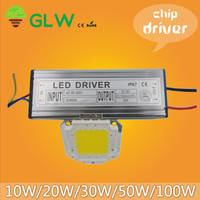 For AC85V-265V LED spotlight lamps High Power LED chip and driver SUCH AS spot light WAST LAMP 10W 20W 30W 50W 100W  for choice