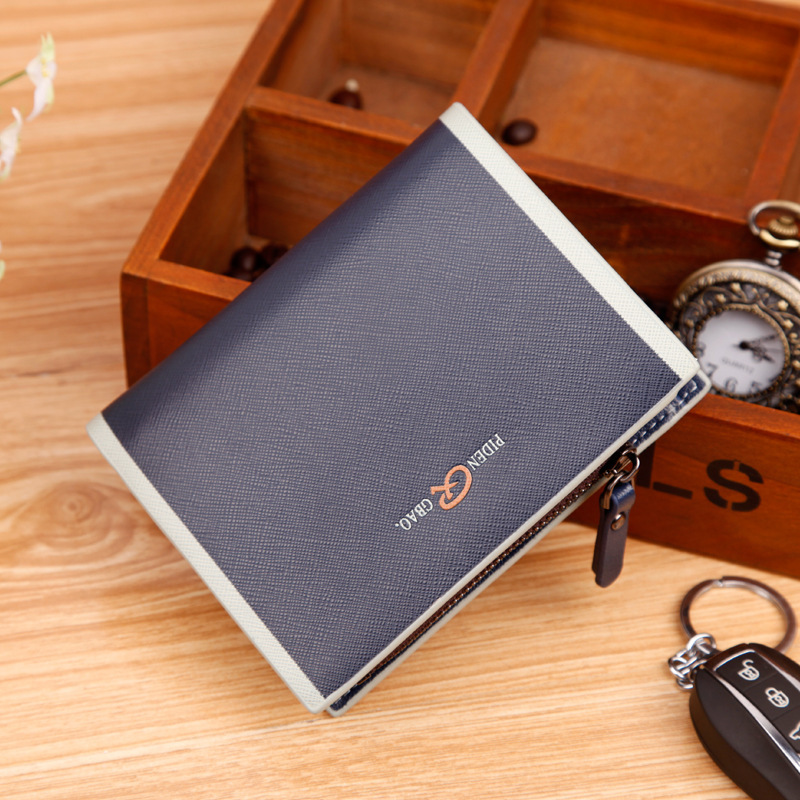 discount designer mens wallets 1hfe  Fashion Bag Men Purse Brand Cheap Designer Men's Wallet New Man Leather