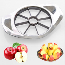 1 Piece stainless steel Apple Cutter Slicer Vegetable Fruit  Tools Kitchen gadgets Free shipping(China (Mainland))