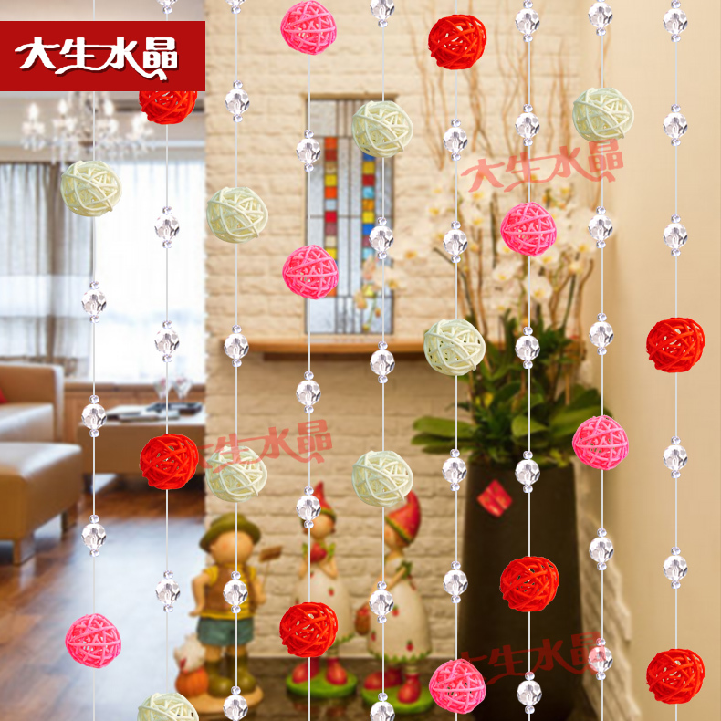 Free shipping! DIY ,AAA Top quality, Nice Crystal Glass beads curtain ,Crystal Curtain,(20*1.2m/lot)Best selling.(China (Mainland))