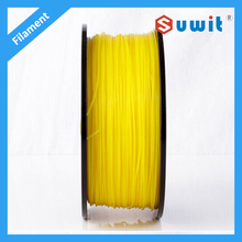 Yellow 3D Printer/Printing Filament PLA 1.75mm / 3.0mm 1kg/ roll High Precisi Available Upgraded for Printer