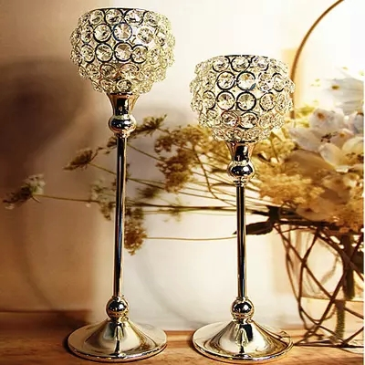 Free Shipping 2Pcs/Lot 12/14Inch Single Head High Quality Wedding Party Even Home Decoratiion Single Head Candle Holder(China (Mainland))