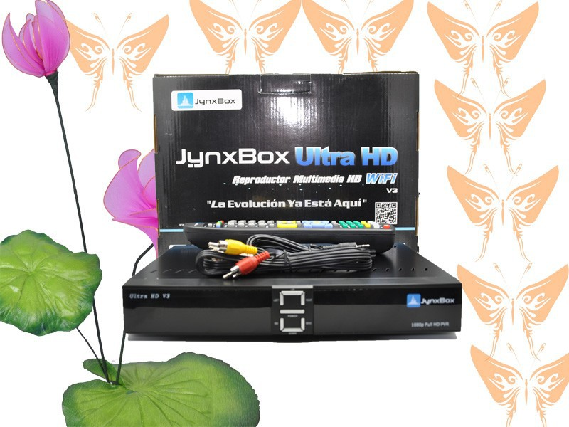 best selling products 2014 jynxbox ultra hd v3 satellite tv receiver(China (Mainland))