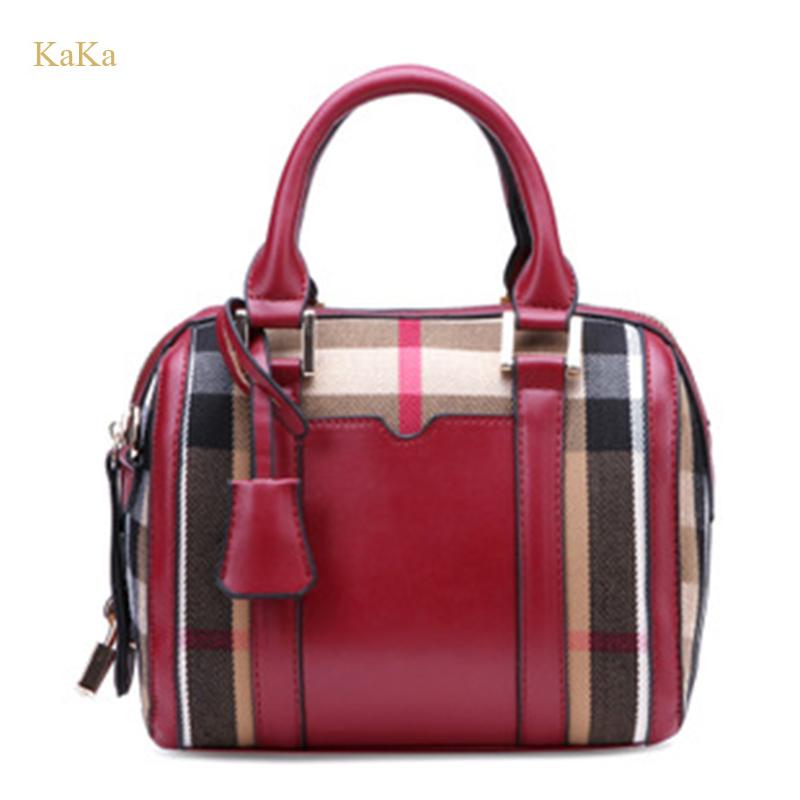 KaKa High Quality 2015 New Ladies Serpentine Totes Women Famous Brands Messenger Bag Fashion PU