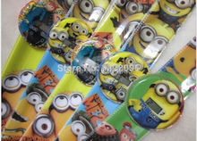 20pcs lot cartoon Despicable Me slap watch for Kids Fashion cute children cartoon watches