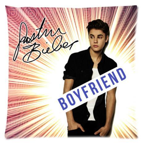 Custom Justin Bieber Book Fashion Style Glossy Soft Modern Suitbale Single Pillow Case Standard Size 18''x18''(Twin Sides)U05-04(China (Mainland))
