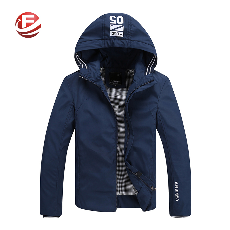 Brand New Men Jackets And Coats Veste Homme Plus Size M-4XL Top Quality Spring Jacket Man Hooded Outerwear(China (Mainland))
