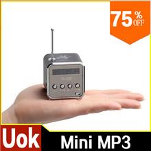 1pc Micro SD TF USB Mini Stereo Speaker black Aluminum alloy Portable Music Player FM Radio for PC MP3 /4 speakers