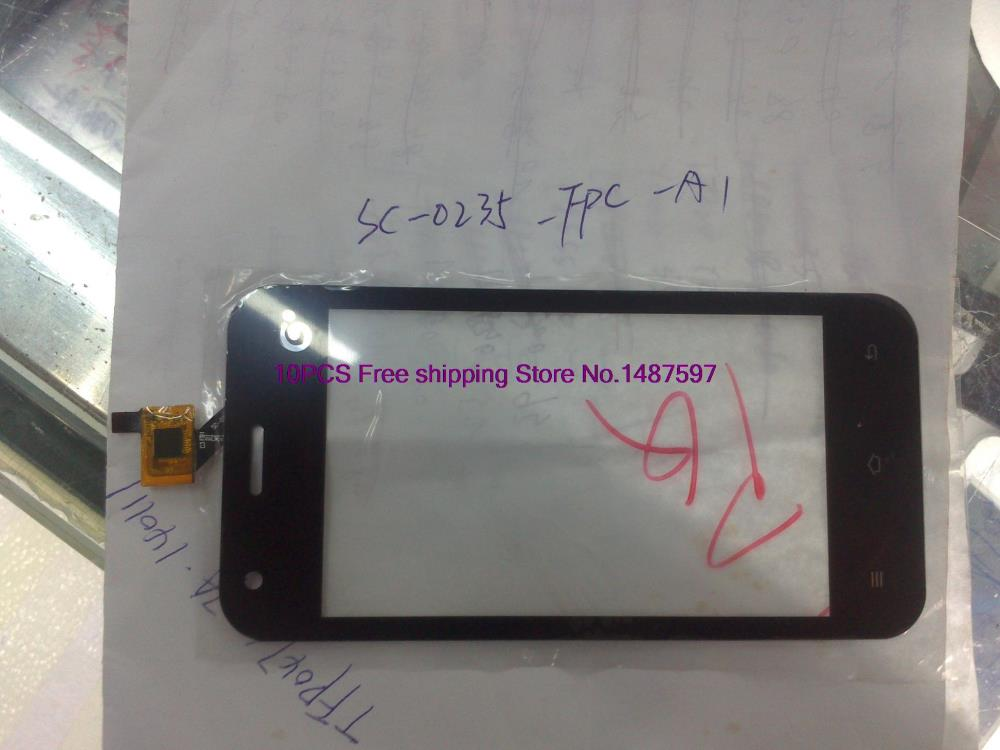 10PCS Free shipping Domestic coded SC-0235-FPC-A1 external screen capacitive screen touch screen handwriting screen(China (Mainland))
