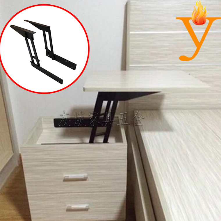 thicken spring Lift up coffee table hardware floding table Mechanism B07(China (Mainland))