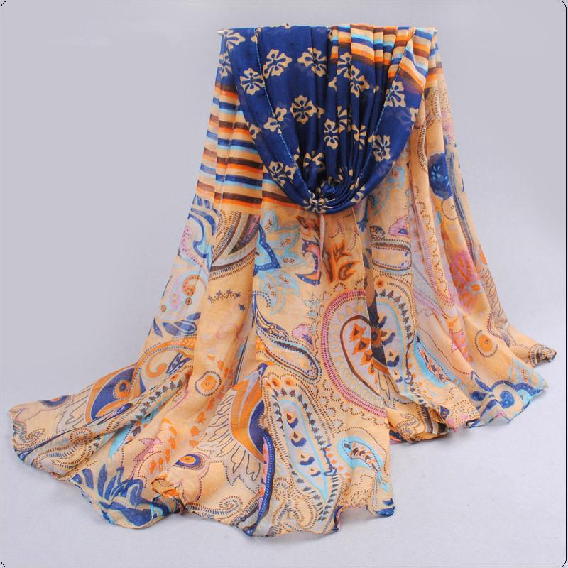 2015 new autumn spring fashion scarf women thin long elegant casual voile ldies shawl pashmina 180*95cm (China (Mainland))