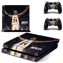 MVP Kobe Bryant PS4 Skin Sticker for Sony PS4 Console and 2 Controllers Decal