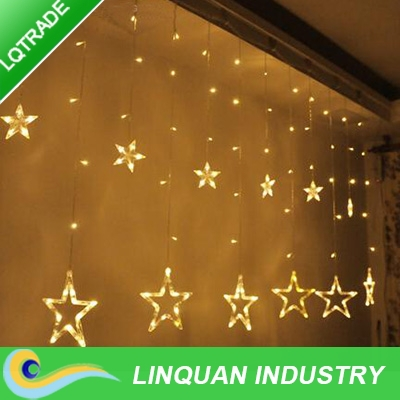 Christmas light/Festival Decoration Lights/star Lights/LED String Lamp/curtain lamp(China (Mainland))