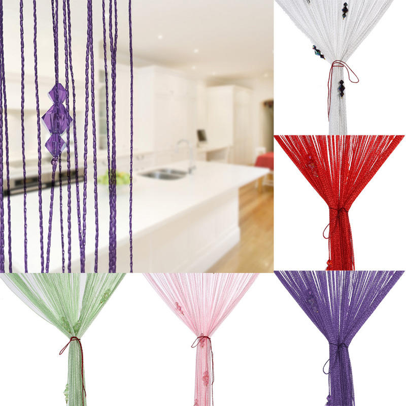 Aliexpress.com : Buy 3 Bead Curtain For Crystal Divider Decorative ...