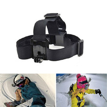 Harness Adjustable Elastic Head Strap Mount Headband with Plastic Buckle For GoPro GO PRO HD Hero 1/2/3/4 Camera Accessories