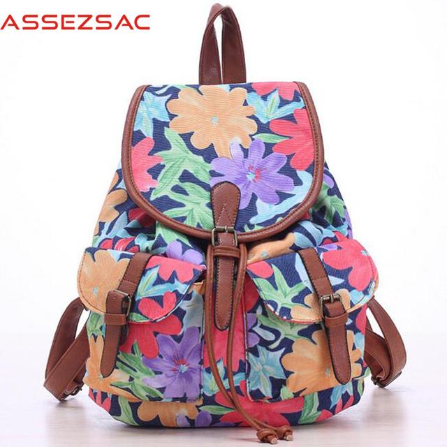 Assez мешок! 2016 женщин рюкзаки моды дорожные сумки походы мешок школьные сумки ...