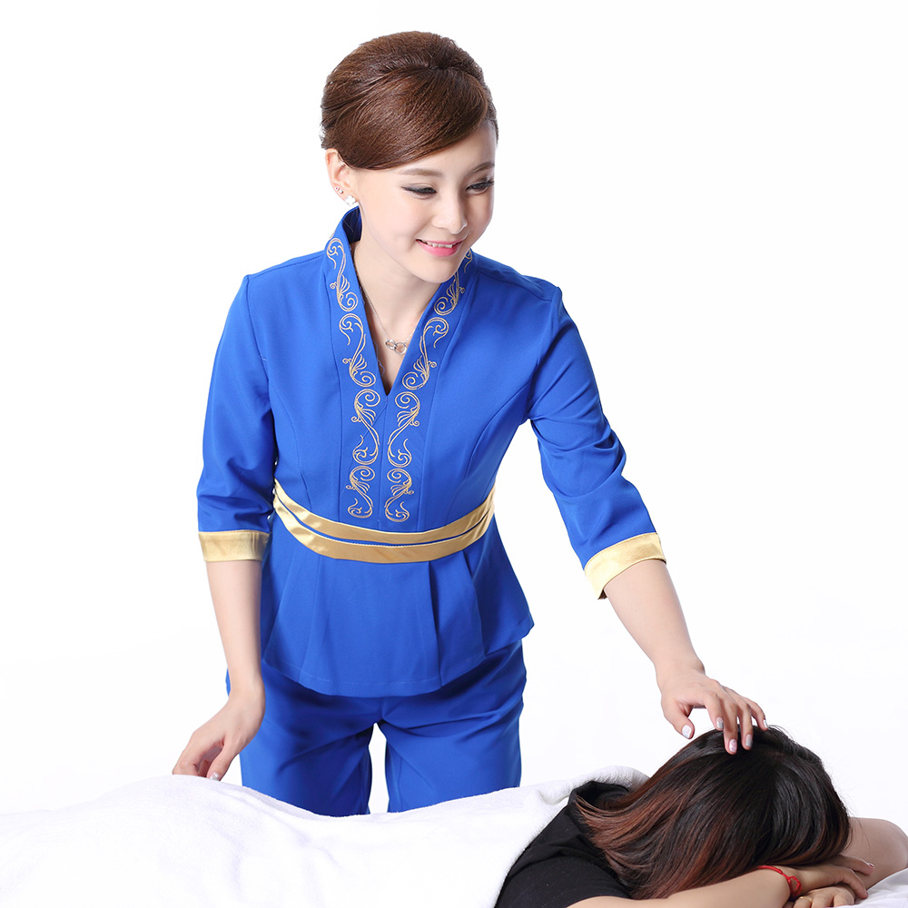 Popular cheap beauty uniforms buy cheap cheap beauty for Spa uniform indonesia