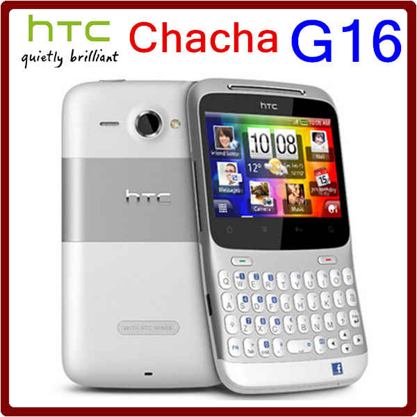 G16 Original Unlocked HTC ChaCha A810e GPS 5MP 3G 1250mAh WIFI Bluetooth Without Polish language Smartphone Free Shipping(China (Mainland))
