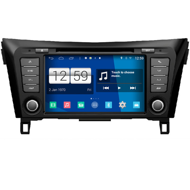 Car Styling 1024*600 Quad Core 16G 8'' Pure Android 4.4.4 Car DVD Player for Nissan Qashqai 2014 GPS Navigation Promotions Gift(China (Mainland))