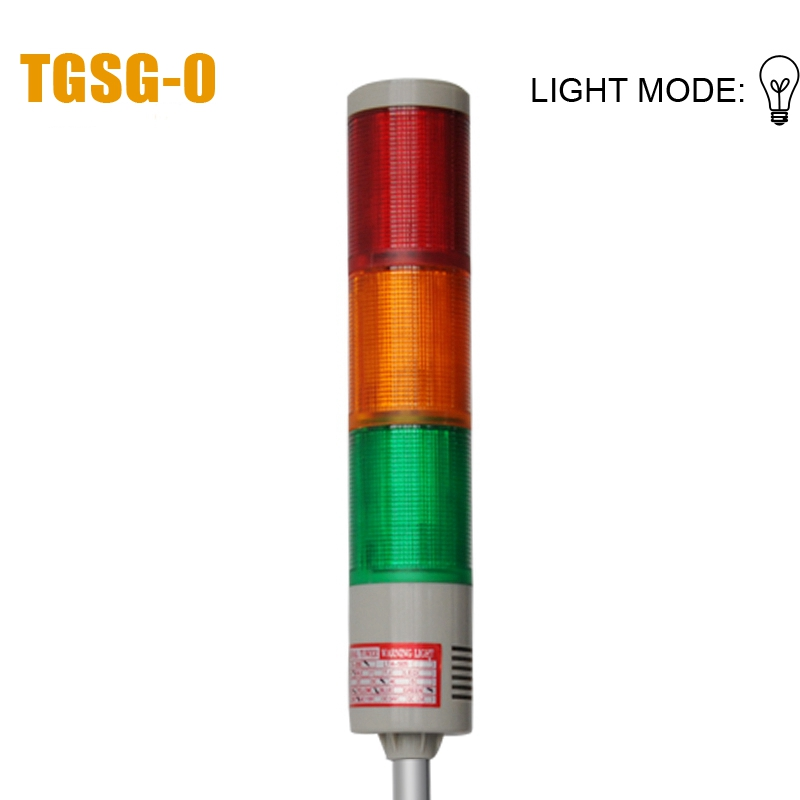 LTA-205 Manufacture warning light IP55 blue red tower lights yellow green flash bulb signal traffic light with CE/ROHS(China (Mainland))