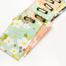1pc Creative Luxuriant Flowers Pattern Clipboard Writing Pad School Office Supply Gift Stationery Writing Board(China (Mainland))