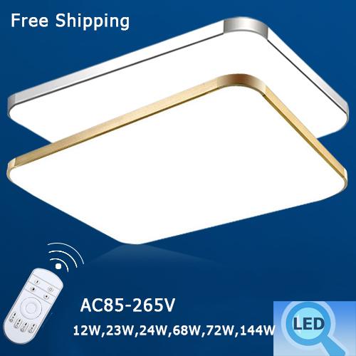 2015 Abajur Modern Led Ceiling Light Lamp For Livingroom Bedroom Led Ceiling Lamps AC110V 12W 23W 24W 68W 72W 144W Luminaria(China (Mainland))