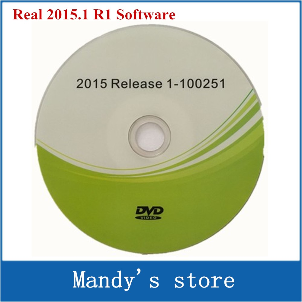 100% New version CDP Software (2015.1 R1) without Activtor/Keygen on CD/Disk/DVD For TCS cdp pro plus 2015 Release 1 Free active(China (Mainland))
