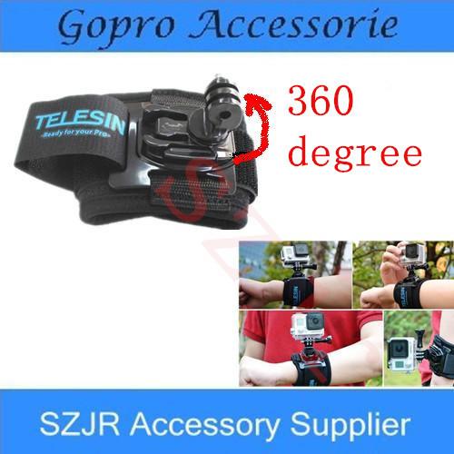 Электроника TELESIN Gopro Gopro + 360 hero3 Gopro hd hero 3 + Gopro Hero4 SJ4000 GP-WFS-101 pannovo g 215 waterproof foam floaty backdoor w 3m adhesive tape for gopro hero 4 3 sj4000