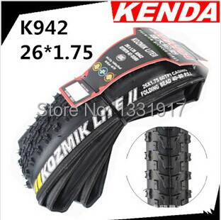 HOT NEW 26*1.75 H-Q KENDA K942 Folding bicycle tires,60TPI/pneus for Mountain bike folding road bicycle tires free shipping(China (Mainland))