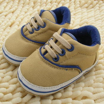 Baby Shoes Branded Newborn Girl Boy Soft Sole Crib Toddler Shoes Canvas Sneaker Prewalker Sports Shoes Casual 0-18 M