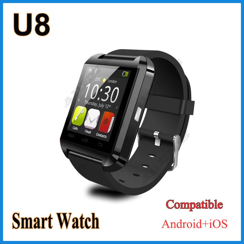 u U8 Smartwatch Bluetooth /ios Android u8 smartwatch bluetooth ответ камера управляющее сообщение медиа анти потерянный для android ios смартфон