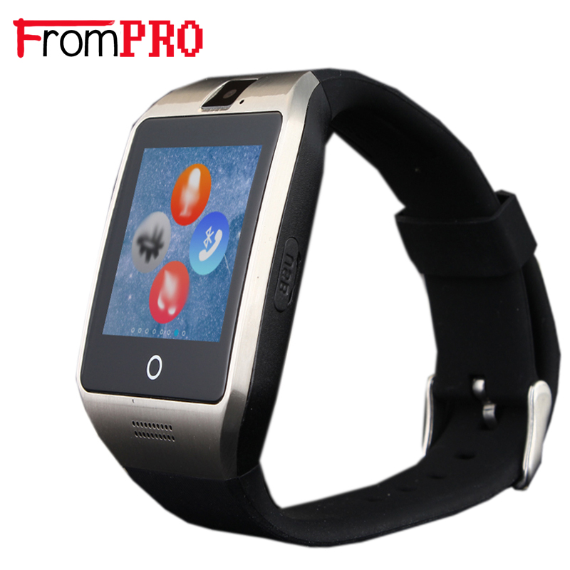 FROMPRO Smart watch Apro smartwatch Support Bluetooth NFC SIM GSM Video camera Support Android/IOS cell phone PK Q18s GT08 GV18(China (Mainland))