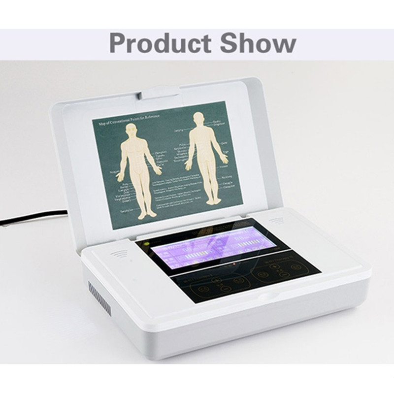 2015 As Seen On Tv Digital Medium Frequency Electronic Therapeutic Apparatus Electric Body Pulse Massager For Leg Shoulder(China (Mainland))