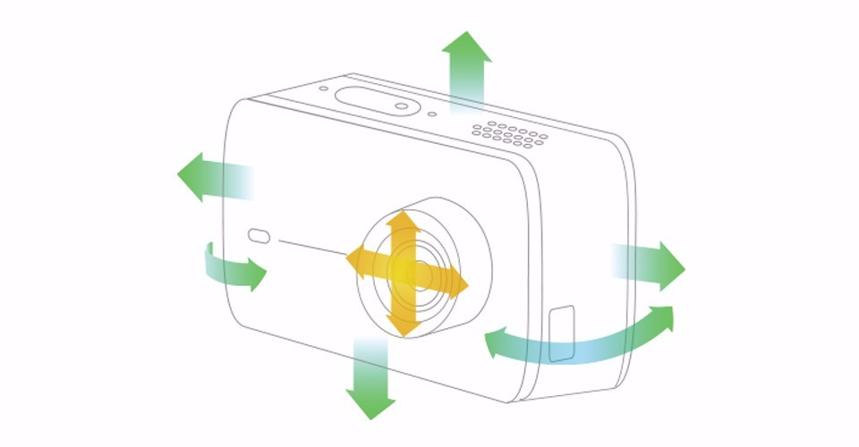 image for IN STOCK!!! New Arrival Xiaoyi YI 4K Action Sport Camera 2 II 2.19''