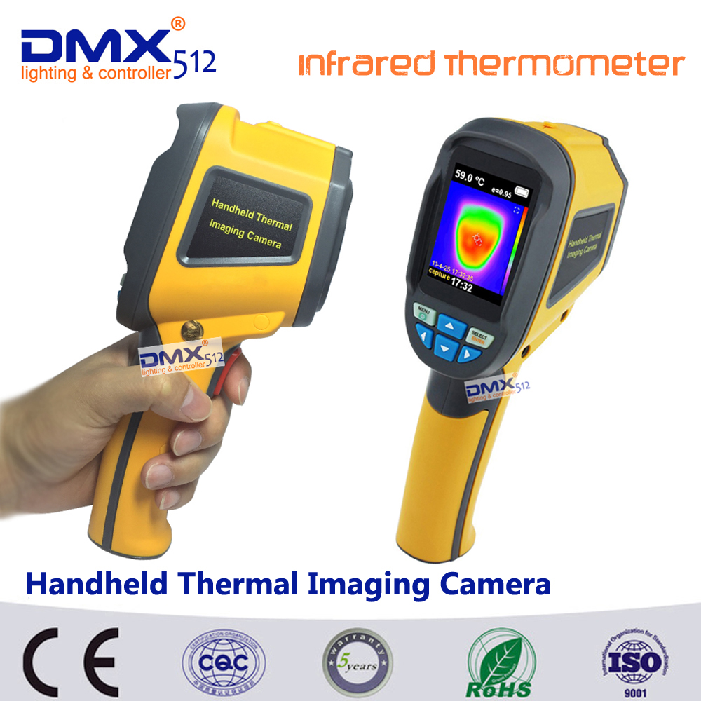 DHL free shipping HT-02 Handheld Thermal Imaging Camera Portable Infrared Thermometer IR Thermal Imager Infrared Imaging Device(China (Mainland))