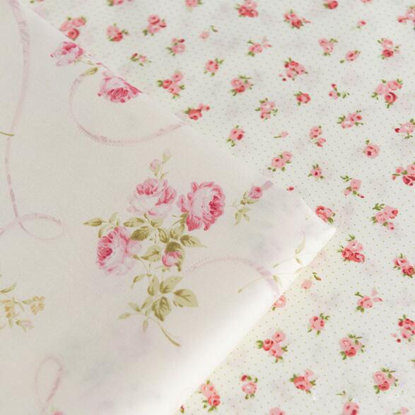 1 шт. поделки ручной работы лоскутное саржевые ткани ребенка розы ткань 50 * 160 см бесплатная доставка # JC448
